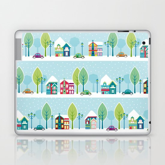 Ski house Laptop & iPad Skin