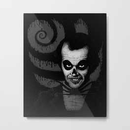 Jack T. Skeleton Metal Print