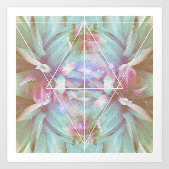 COSMIC NATURE III Art Print