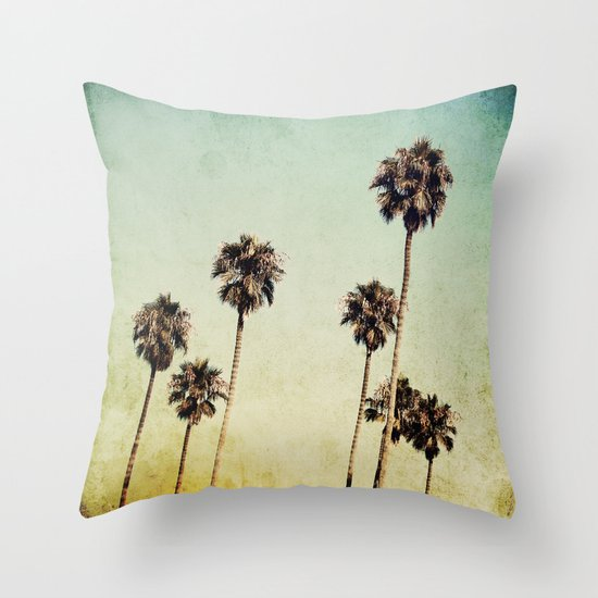 Palm Trees 2 Throw Pillow