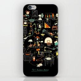 Breakfast Machine iPhone Skin