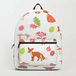 fall forest Backpack