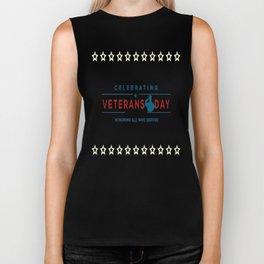 Celebrating Veterans Day Honoring All Who Served Biker Tank