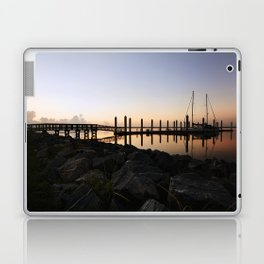 Sunrise at the Marina Laptop & iPad Skin
