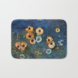 Abstract beautiful barnacles Bath Mat