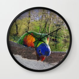 Who are you? Wall Clock
