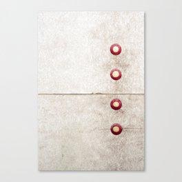 Four on Gray Canvas Print