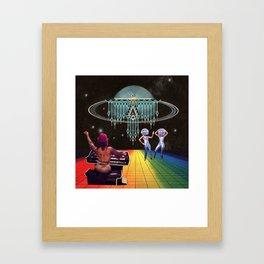 mystic disco Framed Art Print