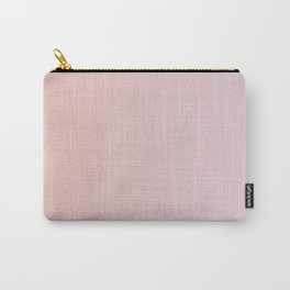 Coral Pink Peach Sunset Gradient Carry-All Pouch