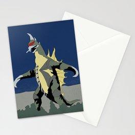 Godzilla vs Gigan Stationery Cards