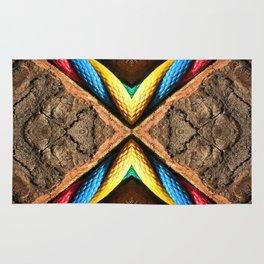 X Letter Rug