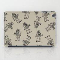 robot iPad Cases featuring Robot. by Scott Mckenzie-Lee