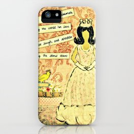 She will be compassionate iPhone Case