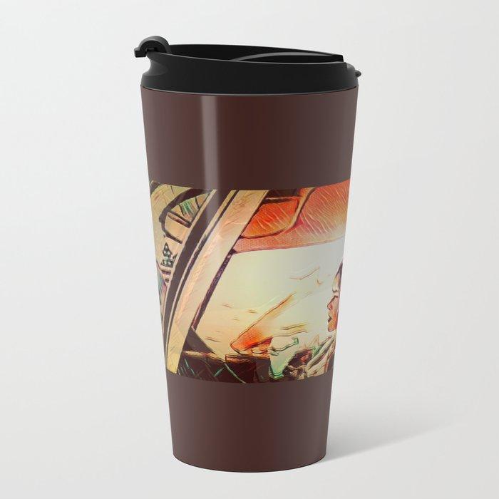 Morning Sickness Metal Travel Mug