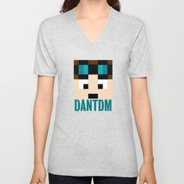 DANTDM Graphic Crystal Unisex V-Neck