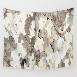 Bark Map Wall Tapestry