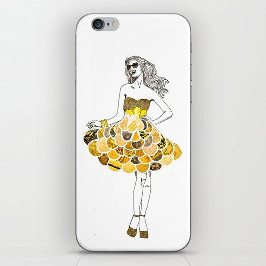 The Yellow Dress iPhone Skin