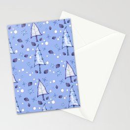 Blizzard Blues II Stationery Cards