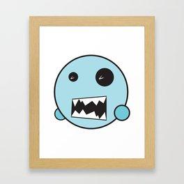 Monster Pop Framed Art Print