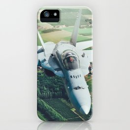 A pair of Hornets iPhone Case