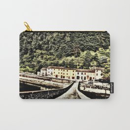 Ponte della Maddalena-Tuscany, Italy Carry-All Pouch