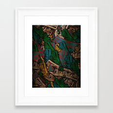 Slapbox Framed Art Print