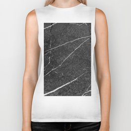 Gray Black Marble Glam #2 #decor #art #society6 Biker Tank