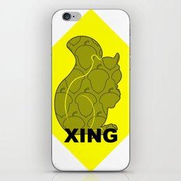 Squirrel XING iPhone Skin
