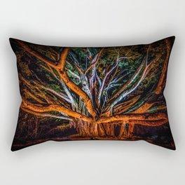 Night of the banyan Rectangular Pillow