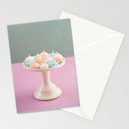 Mini meringue kisses Stationery Cards
