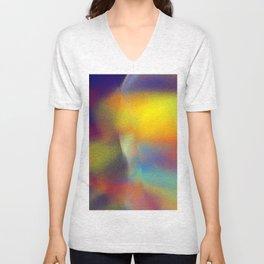 colorkleckse Unisex V-Neck