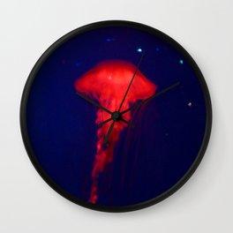 Mystical Jellyfish Wall Clock