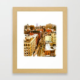 Chinatown View Framed Art Print