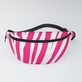 Pink zebra Fanny Pack