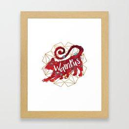 Wampus Framed Art Print