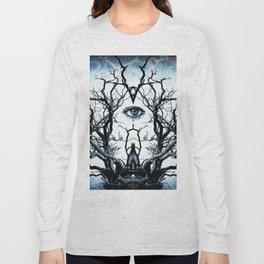 Tree of Life Archetype Religious Symmetry Long Sleeve T-shirt