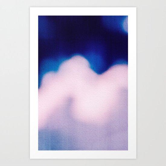 BLUR / clouds Art Print
