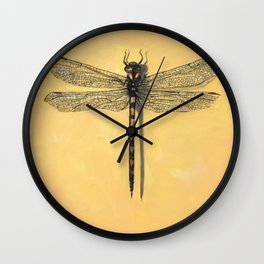 Spiketail Dragonfly Wall Clock