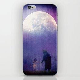 Follow your inner moonlight iPhone Skin