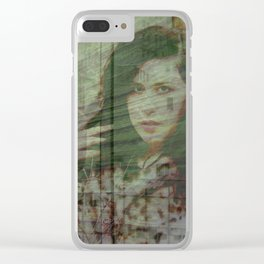 Lisa Marie Basile, No. 96 Clear iPhone Case