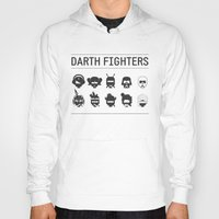 foo fighters Hoodies featuring Darth Fighters by Nillustra™
