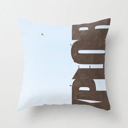 Explore Climbing 2 Throw Pillow