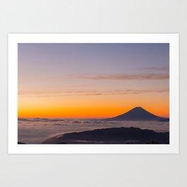 Kitadake, Japan Art Print