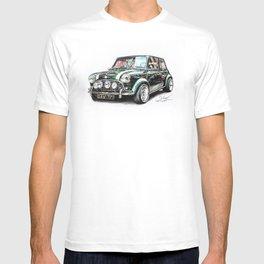 Mini Cooper Drawing (Classic) T-shirt