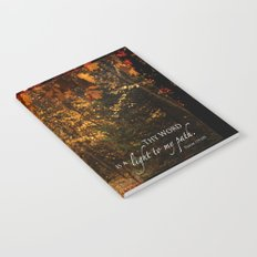 Autumn light Notebook