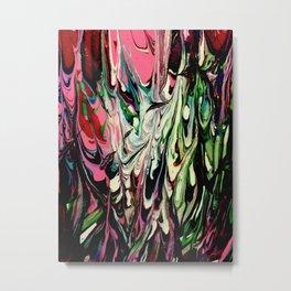 Psychedelic Flow Metal Print