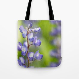 Yellowstone National Park - Silver Lupine Tote Bag