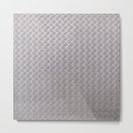 Metal Industrial Pattern Metal Print