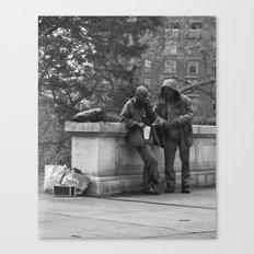 Casual Encounters Canvas Print