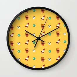 ChuChu Rocketto Wall Clock